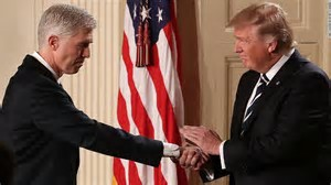 Trump and Gorsuch 2